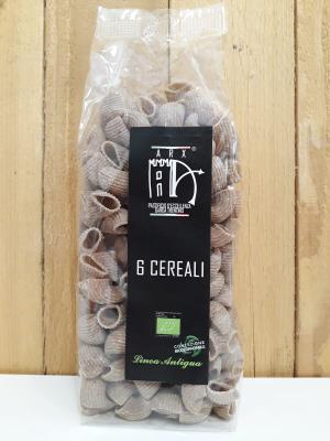 Conchiglie integrali ai 6 cereali