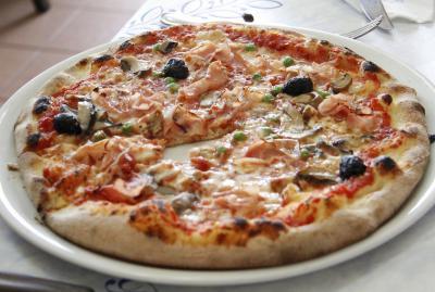 Trancio di pizza Capricciosa