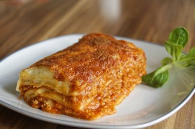 Pasticcio di lasagne alla bolognese