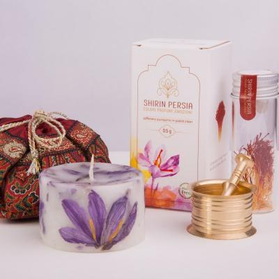 Confezione regalo Red Passion + Zafferano iraniano di Qa'en - in pistilli interi da 0,5 grammi