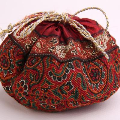 Sacchetto artigianale Termeh - Rosso